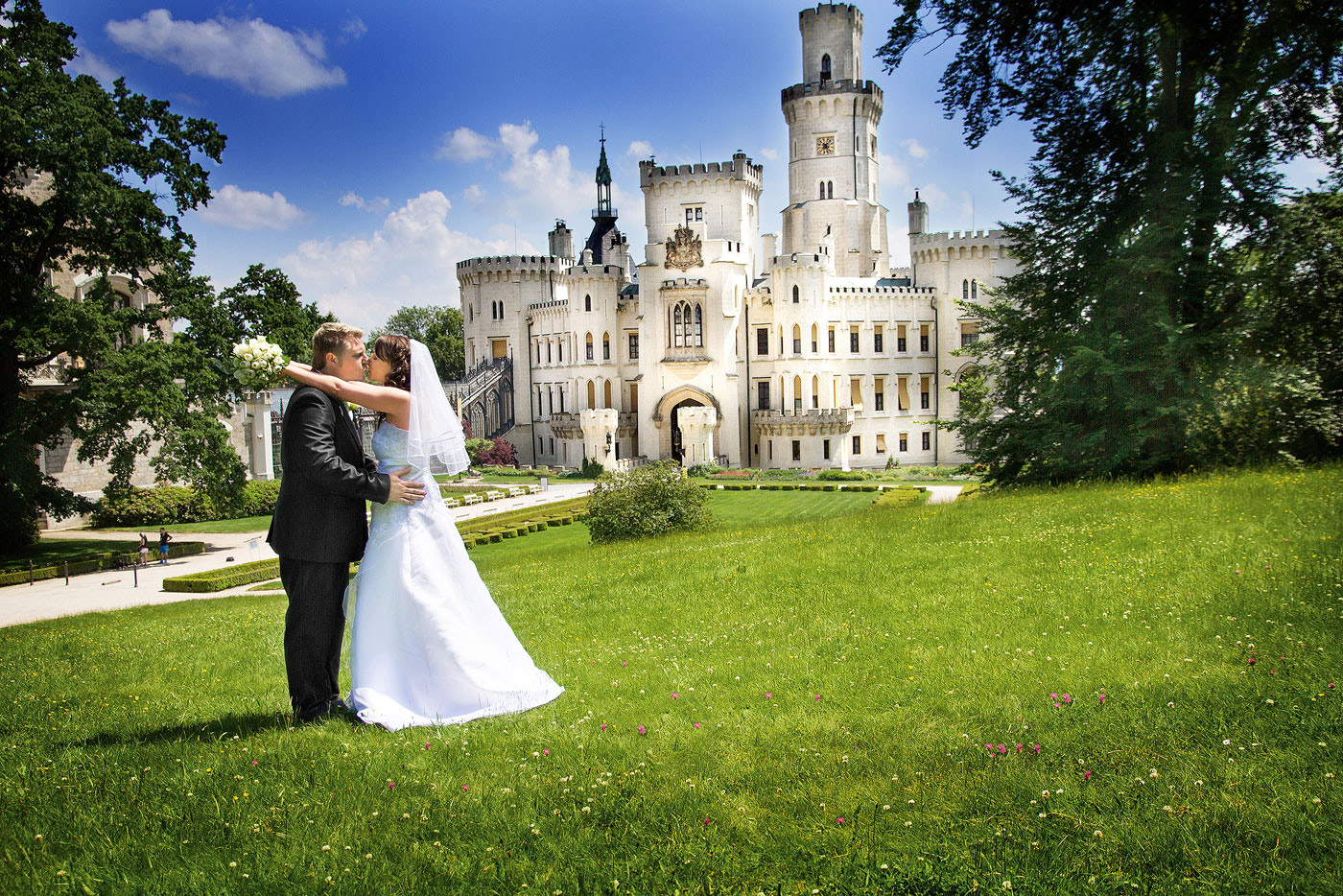 Svatba Hluboká nad Vltavou