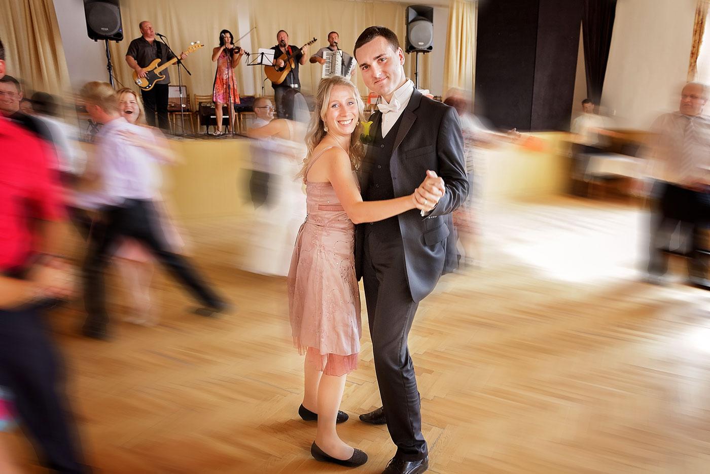 Svatební tanec ženich