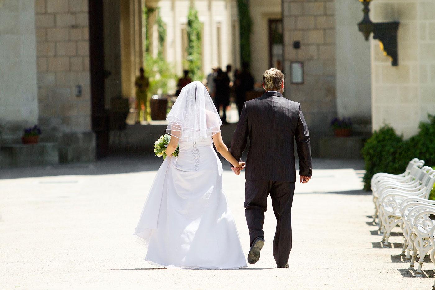 Zámek Hluboká nad Vltavou - svatební fotograf Daniel Rataj